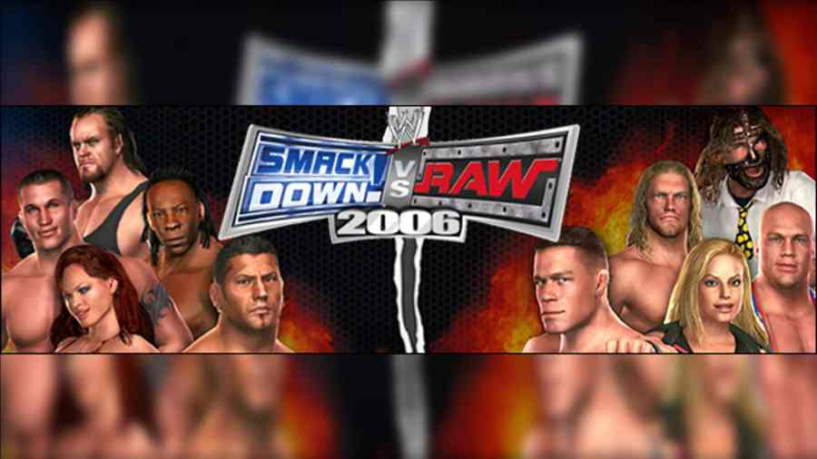 WWE SmackDown vs Raw 2006 PS2 ISO Highly Compressed