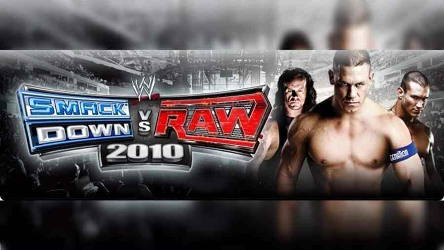 WWE SmackDown vs Raw 2010 PS2 ISO Highly Compressed