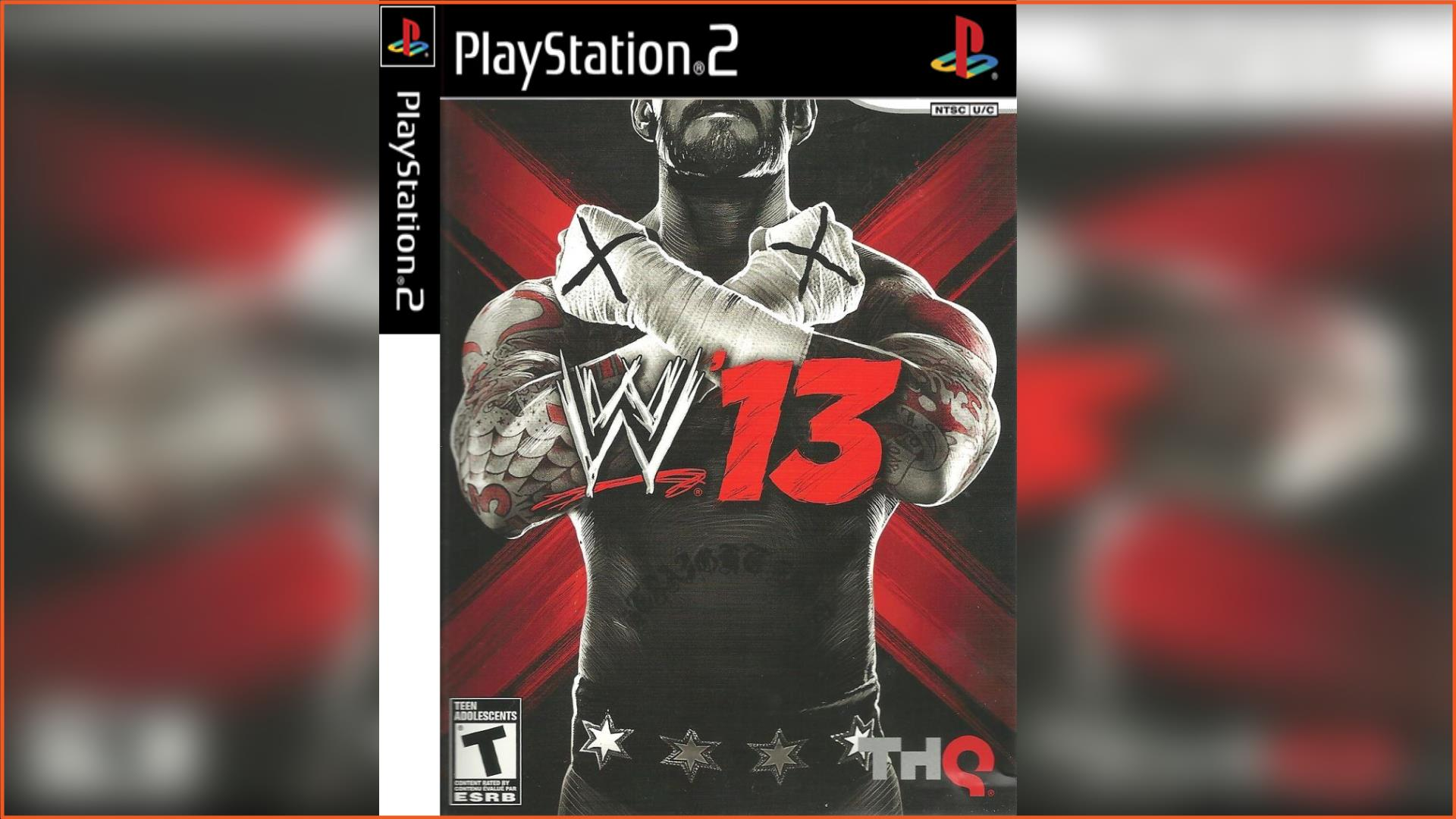 WWE 2K13 PS2 ISO Download
