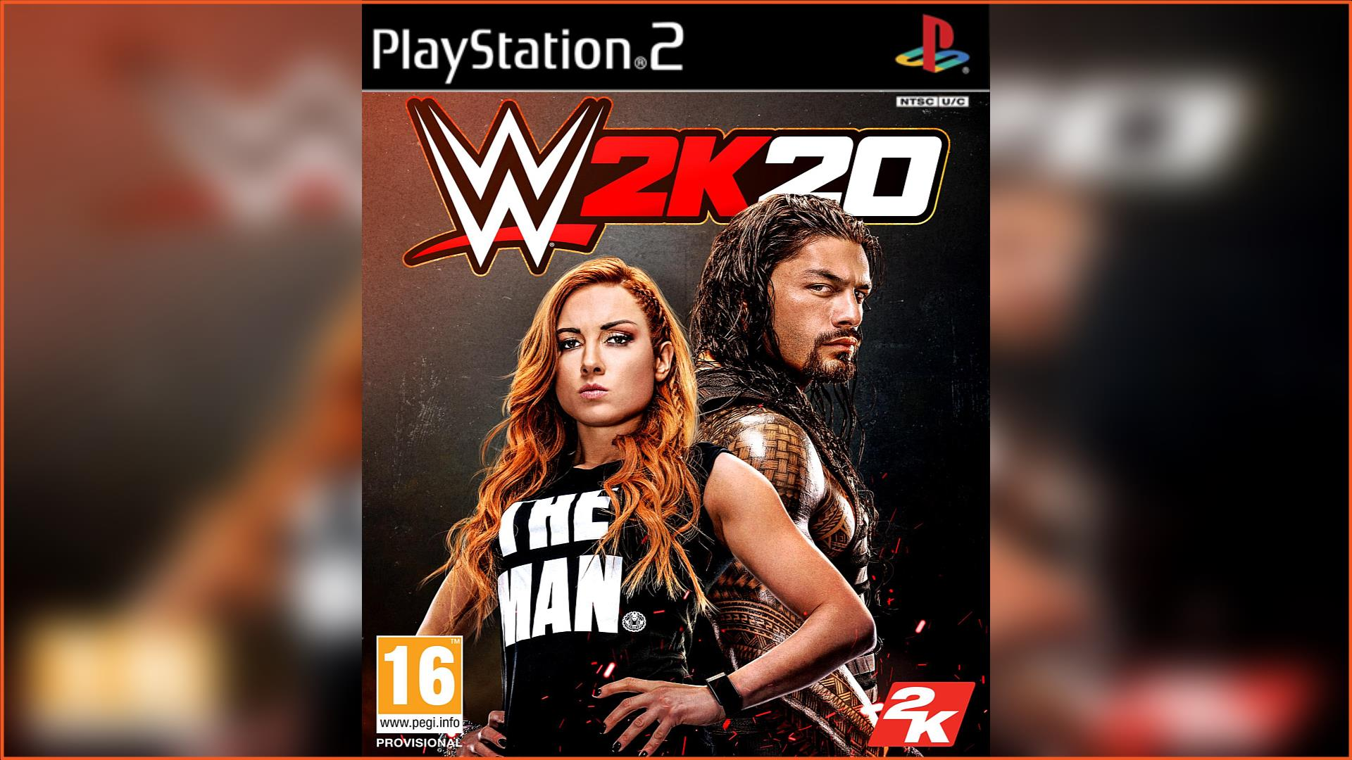WWE 2K20 PS2 ISO Download