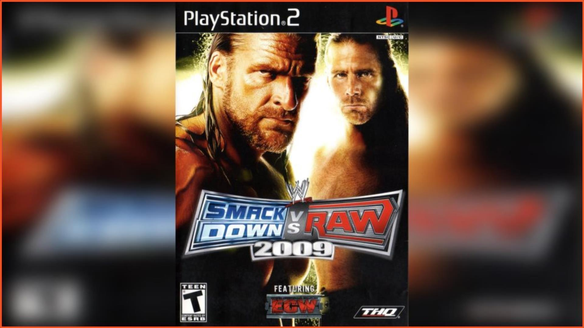 WWE SmackDown vs Raw 2009 PS2 ISO Download