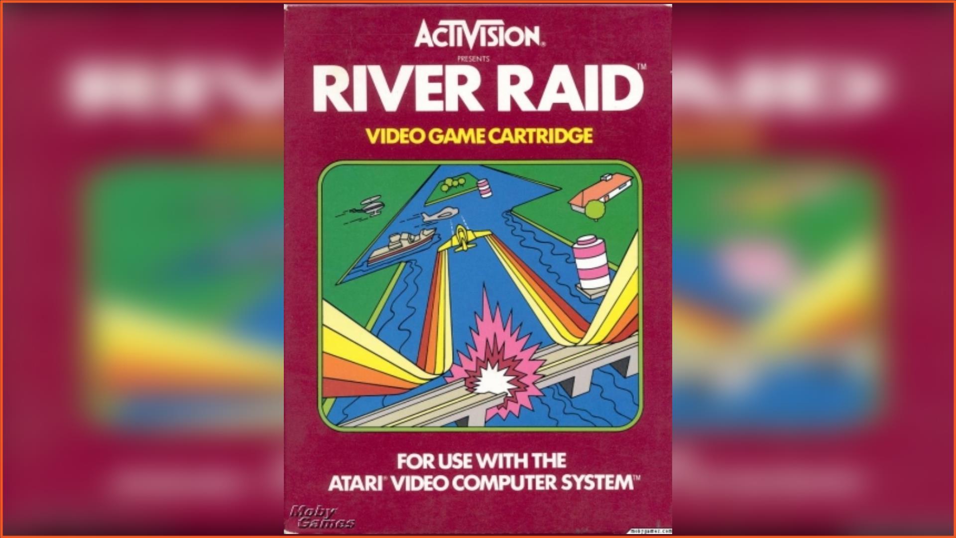 River Raid Atari 2600 ROM Download