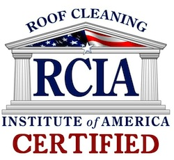 RCIA Roof Cleaning Certified Badge
