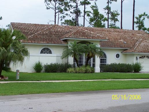 Dirt tile roof tampa palms 33647