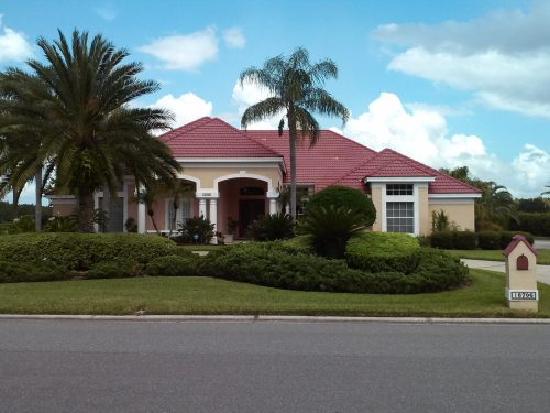Barrel Tile Roof Cleaning Tampa Palms