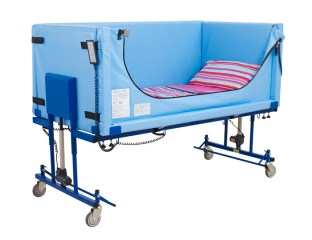 Profiling bed raised