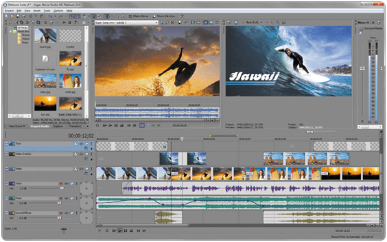 Sony Vegas Movie Studio (Paid)