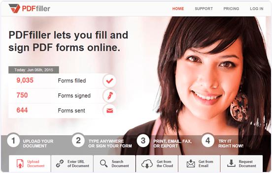Pdffiller.com PDF text editor online