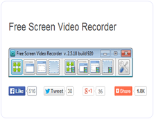 DVDVideoSoft Free Screen Video Recorder PC Software