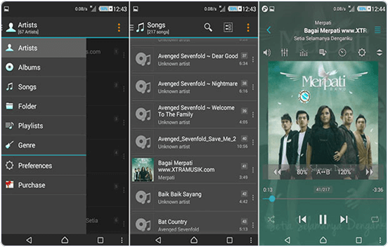 Jet Audio Music Player Android App
