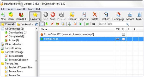 Bitcomet PC Software