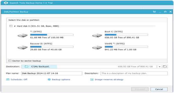EaseUs Todo Backup Home 9.1 PC Software