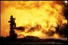 Kuwait oil fires 00209