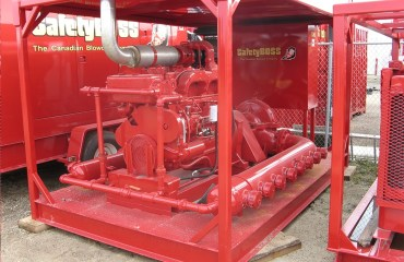 Skid Pump Unit for our fire protection service