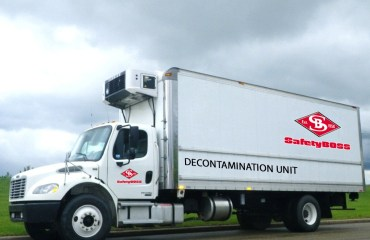 Decontamination Unit for our fire protection and standby service