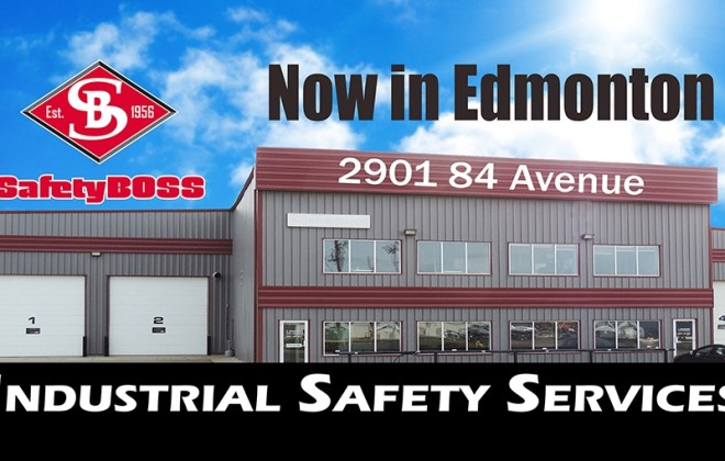 Safety Boss now has a new larger location in Edmonton Alberta