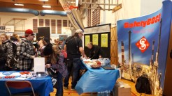 Safety Boss at Alexander First Nation Youth Career Fair