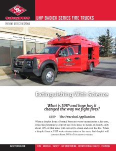 Badick Fire Truck Brochure