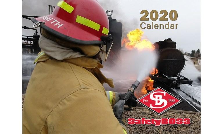 2020 Safety Boss Wall Calendar
