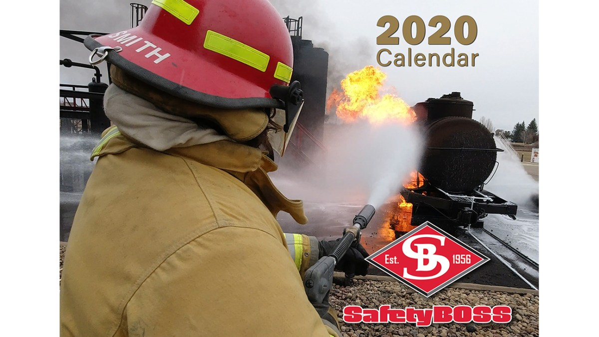 2020 Safety Boss Wall Calendar