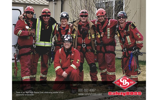 High Angle Rescue Team - June 2020 Calendar