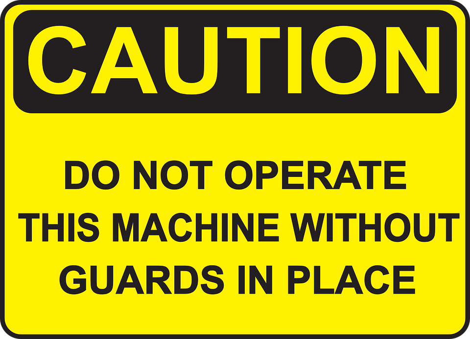 guard against machine injuries