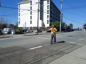 construction flagger