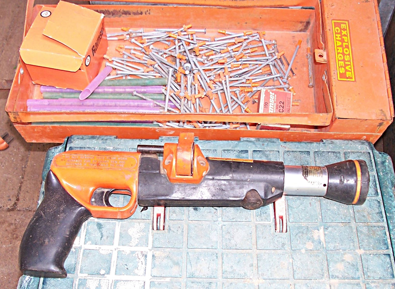 powder actuated tools