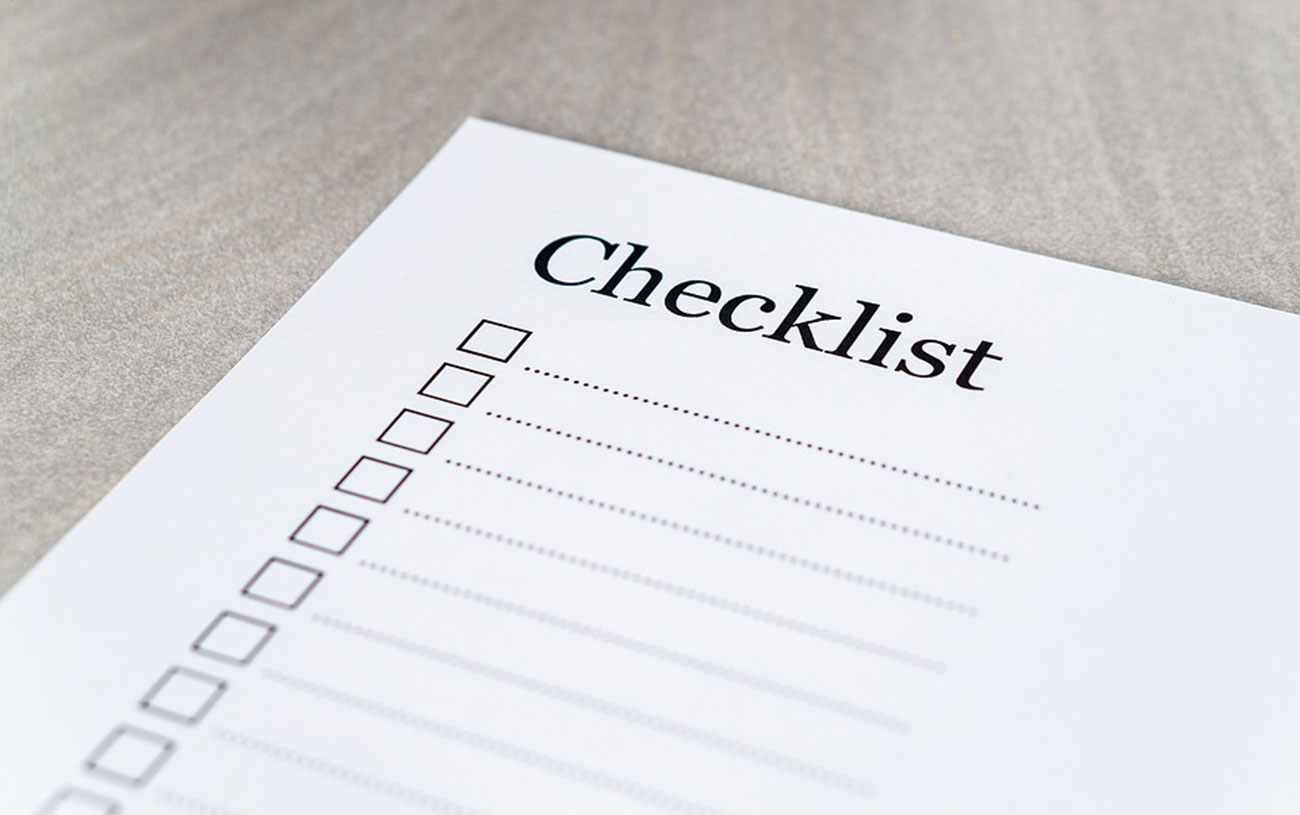 shop safety checklist
