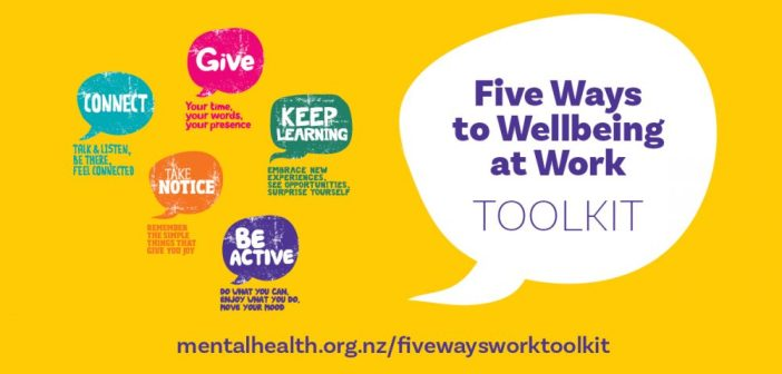 Wellbeing toolkit aims to create flourishing workplaces