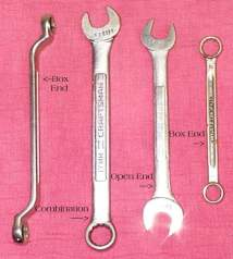 type of wrenches