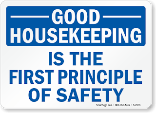 Toolbox Talk Housekeeping