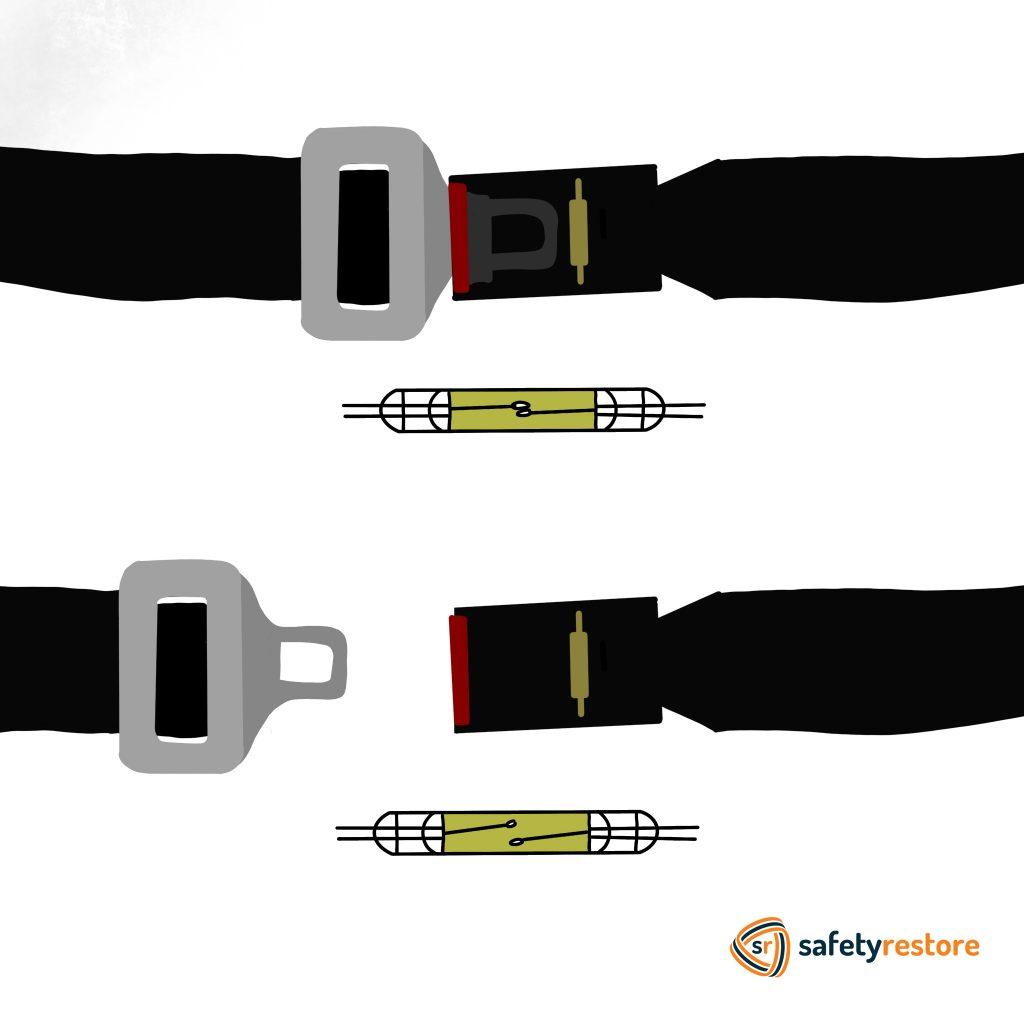 How Seat Belt Sensor Works