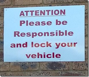 lock car