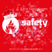 Kerstkaart Safety Service®