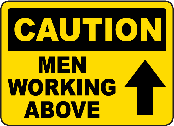 OSHA Construction Site Safety Sign
