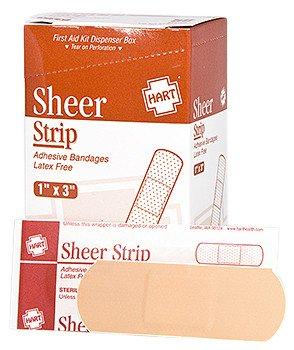 "Hart Health Sheer Strip 1""x3"""