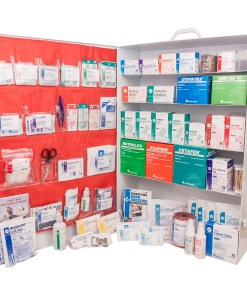 FIRST AID KITS AND CABINETS