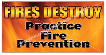 Fire Prevention Banners Amp Posters
