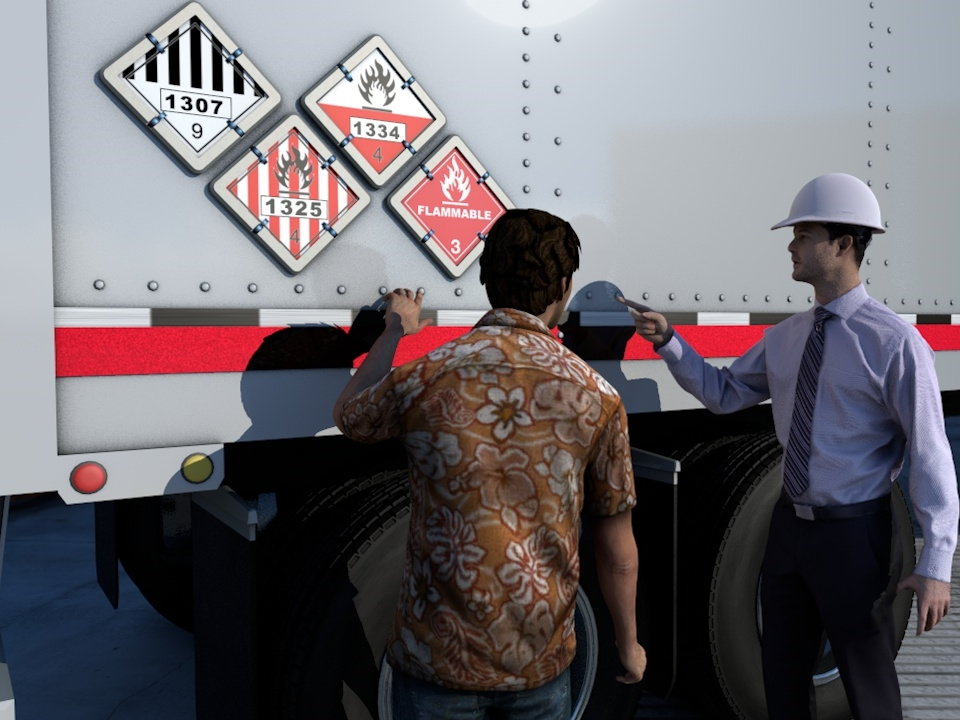 Transportation of Dangerous Goods (TDG) Image