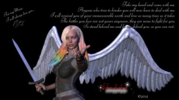 Mum's guardian angel