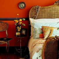 tangerine home decor