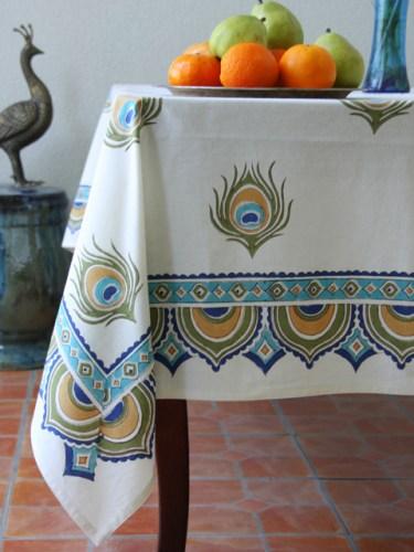 Peacock Wedding Tablecloth
