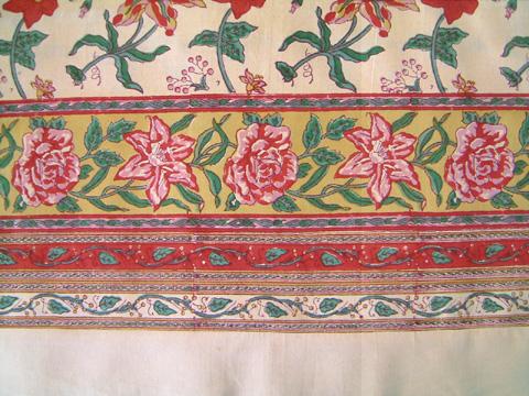 tropical wedding tablecloth