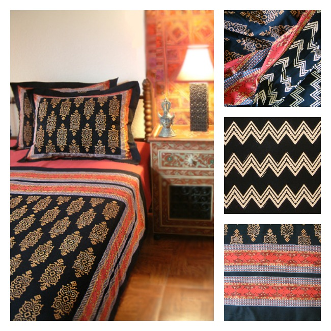 Perfect Kilim Noir Duvet or Bedspread