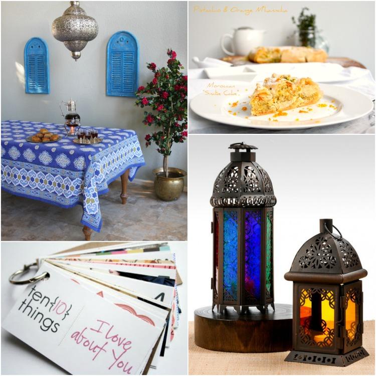 Casablanca Blue Collage