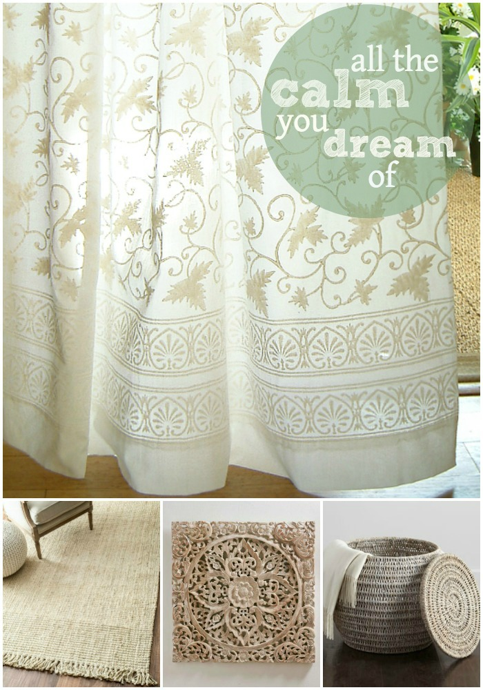 Create Serene Summer Style With Our Handprinted White