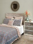 Finally, the gorgeous print is finished, and used to create our soft, cottony bedding!