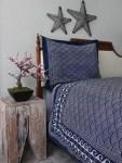 Pacific Blue Lightweight Bedspread