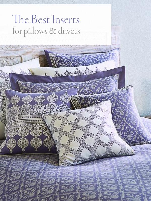 the best duvet insert pillow inserts
